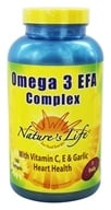 Nature's Life - Omega 3 EFA Complex - 180 Softgels, from category: Nutritional Supplements