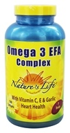 Nature's Life - Omega 3 EFA Complex - 180 Softgels (040647005242)
