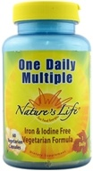 Image of Nature's Life - One Daily Multiple - 60 Vegetarian Capsules