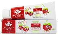 Nature's Gate - Natural Toothpaste for Kids Fluoride Free Cherry Gel - 5 oz. (078347031070)