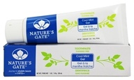 Nature's Gate - Natural Toothpaste Fluoride Free Cool Mint Gel - 5 oz.