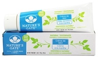 Nature's Gate - Natural Toothpaste Creme de Mint - 6 oz. by Nature's Gate