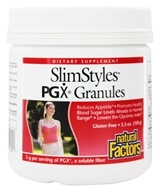 Natural Factors - SlimStyles PGX Granules - 5.3 oz. by Natural Factors