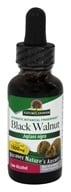 Nature's Answer - Black Walnut Green Hulls Organic Alcohol - 1 oz., from category: Herbs