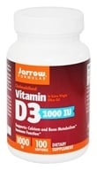 Jarrow Formulas - Vitamin D3 Cholecalciferol 1000 IU - 100 Softgels - $4.92