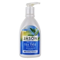 Jason Natural Products - Satin Shower Body Wash Tea Tree - 30 oz. (078522030270)