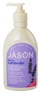 JASON Natural Products - Satin Hand Soap Lavender - 16 oz.
