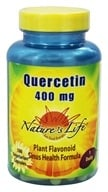 Nature's Life - Quercetin 400 mg. - 100 Vegetarian Capsules, from category: Nutritional Supplements