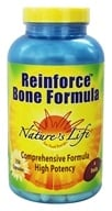 Image of Nature's Life - Reinforce Bone Formula - 250 Capsules