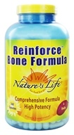Image of Nature's Life - Reinforce Bone Formula - 360 Capsules