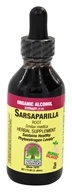 Nature's Answer - Sarsaparilla Root Organic Alcohol - 2 oz., from category: Herbs