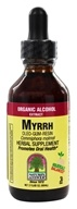 Nature's Answer - Myrrh Oleo-Gum-Resin Organic Alcohol - 2 oz.