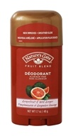 Image of Nature's Gate - Deodorant Stick Fruit Blend Grapefruit & Wild Ginger - 1.7 oz.