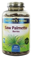 Nature's Herbs - Saw Palmetto - 250 Capsules (030054072760)