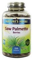 Image of Nature's Herbs - Saw Palmetto - 250 Capsules