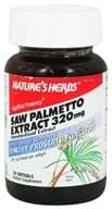 Image of Nature's Herbs - Saw Palmetto Power 320 mg. - 30 Softgels