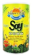 Nature's Life - Super-Green Pro-96 Soy Protein Premium Blend Delicious Vanilla Bean - 2.18 lbs. (040647002999)