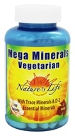 Image of Nature's Life - Vegetarian Mega Minerals - 100 Tablets