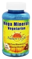 Nature's Life - Vegetarian Mega Minerals - 100 Tablets by Nature's Life