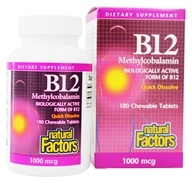 Nature's Life - Vitamin B-12 5000 mcg. - 50 Lozenges by Nature's Life