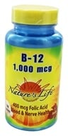Nature's Life - Vitamin B-12 1000 mcg. - 100 Tablets, from category: Vitamins & Minerals