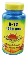 Nature's Life - Vitamin B-12 1000 mcg. - 100 Tablets by Nature's Life