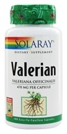 Solaray - Valerian 470 mg. - 100 Capsules, from category: Herbs