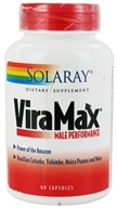Solaray - ViraMax Male Performance - 60 Capsules (076280008081)