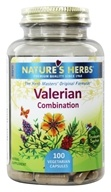 Nature's Herbs - Valerian Root Combo - 100 Capsules by Nature's Herbs