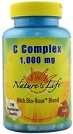 Nature's Life - Vitamin C Complex 1000 mg. - 100 Vegetarian Capsules by Nature's Life