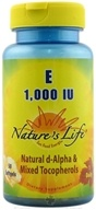 Image of Nature's Life - Vitamin E 1000 IU - 50 Softgels CLEARANCE PRICED