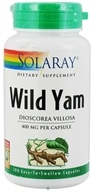 Image of Solaray - Wild Yam Root 400 mg. - 100 Capsules