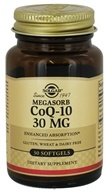 Solgar - MegaSorb CoQ-10 Enhanced Absorption 30 mg. - 30 Softgels - $5.75