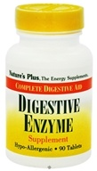 Nature's Plus - Digestive Enzyme Tablets - 90 Tablets