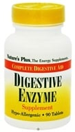 Image of Nature's Plus - Digestive Enzyme Tablets - 90 Tablets