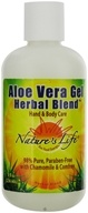 Nature's Life - Aloe Vera Gel Herbal Blend With Chamomile & Comfrey - 8 oz. CLEARANCE PRICED