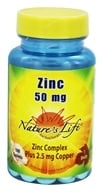 Image of Nature's Life - Zinc 50 mg. - 100 Tablets