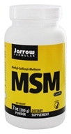Image of Jarrow Formulas - MSM Sulfur Powder 1000 mg. - 7 oz.