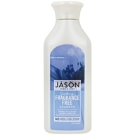 Image of Jason Natural Products - Daily Shampoo - Fragrance Free - 16 oz.
