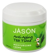 Jason Natural Products - Anti-Aging Tea Time Moist Creme - 4 oz. - $9.58