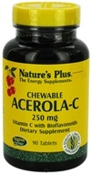 Image of Nature's Plus - Acerola C Complex Chewable Vitamin C 250 mg. - 90 Chewable Tablets
