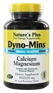 Nature's Plus - Dyno-Mins Cal/Mag 500/250 - 90 Tablets (097467366114)