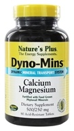 Nature's Plus - Dyno-Mins Cal/Mag 500/250 - 90 Tablets - $13.63