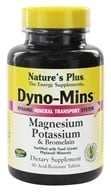 Nature's Plus - Dyno-Mins Magnesium, Potassium, Bromelain - 90 Tablets (097467367210)
