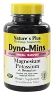 Image of Nature's Plus - Dyno-Mins Magnesium, Potassium, Bromelain - 90 Tablets