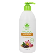 Nature's Gate - Vegan Shampoo Revitalizing Jojoba + Sacred Lotus - 18 oz.