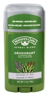 Image of Nature's Gate - Deodorant Stick Herbal Blend Aluminum Free Lavender & Aloe - 1.7 oz.
