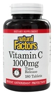 Natural Factors - Vitamin C Time Release 1000 mg. - 180 Tablets, from category: Vitamins & Minerals