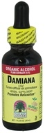 Nature's Answer - Damiana Leaf Organic Alcohol - 1 oz.