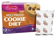 Hollywood Diet - Hollywood Cookie Diet - 12 Cookies Chocolate Chip Flavor